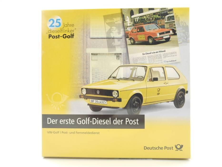 "E332 Brekina H0 Modellautoset 2-tlg. VW ""25 Jahre dieselflinker Post-Golf"" *TOP*"