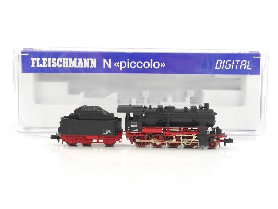 E307 Fleischmann N 715781 Dampflok Schlepptenderlok BR 56 2659 DB Digital *TOP*
