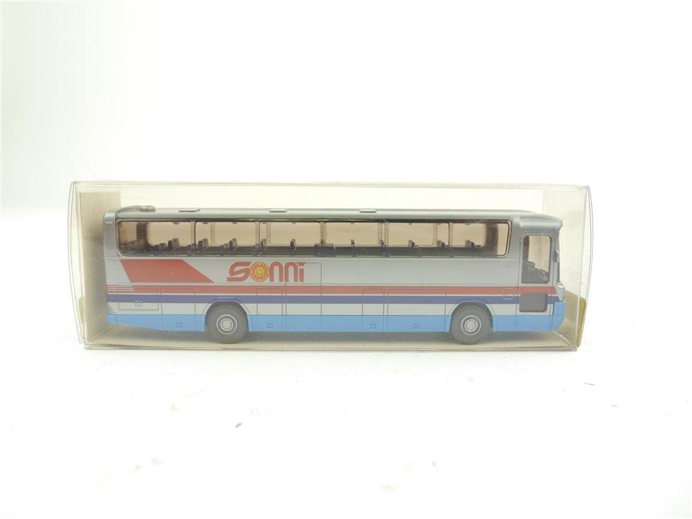 "E159 Wiking H0 24 712 Modellauto Bus Reisebus MB O 303 RHD ""Sonni"" 1:87 *TOP*"