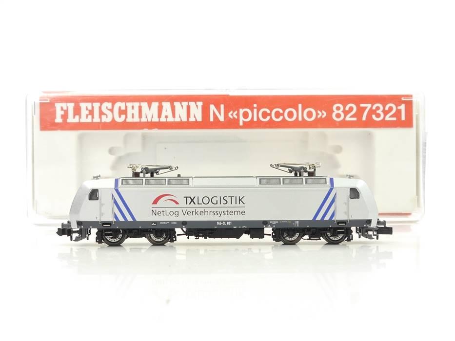 E326 Fleischmann N 82 7321 K Elektrolok BR 145-CL 031 TX LOGISTIK / DSS *TOP*