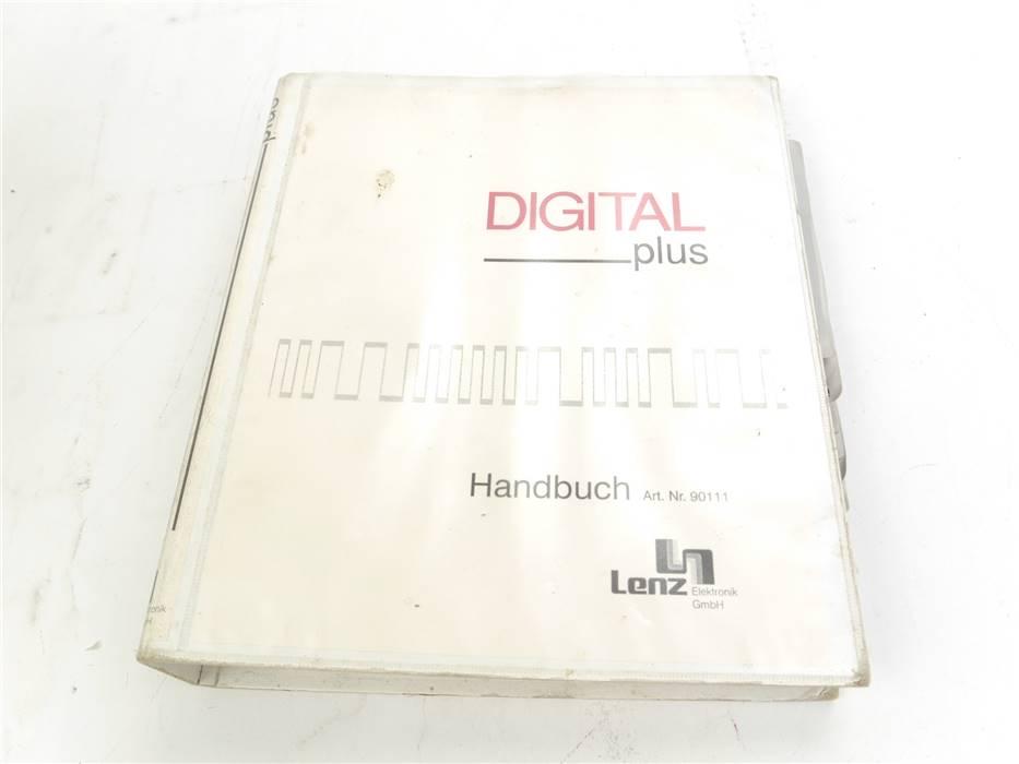 "E322 Lenz 90111 Handbuch Nachschlagewerk ""Digital plus"""