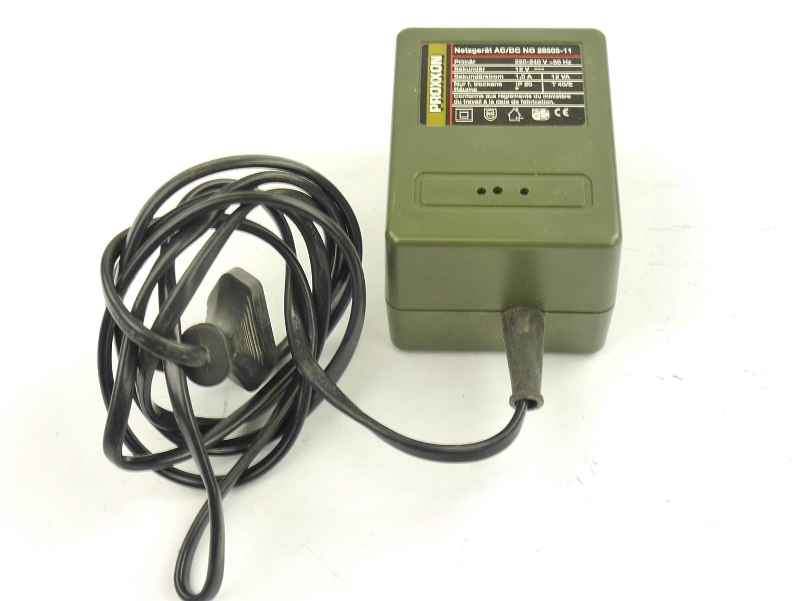 E135 Proxxon Netzteil Netzgerät NG 5 *geprüft*
