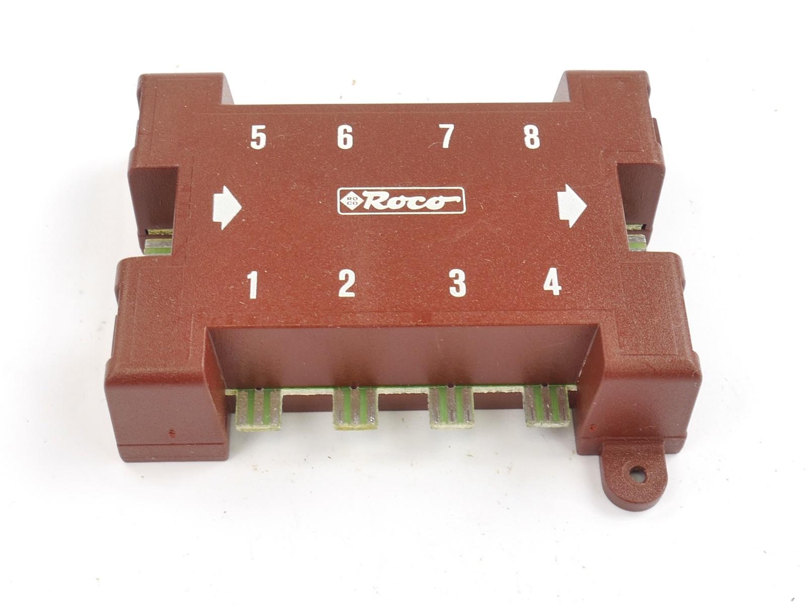 E163 Roco H0 N 10212 Zubehör Gleisbildstellpult Gleisbildstellwerk Anzeigemodul