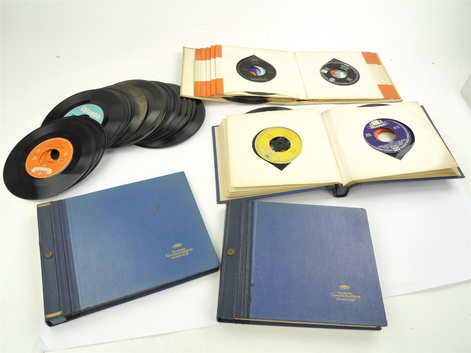 "E116 Polydor London Decca Philips 7"" Vinyl - verschiedene Interpreten / ca. 3 kg"