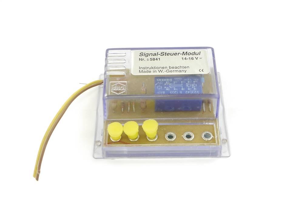 E278 Busch H0 5841 Signal-Steuer-Modul / 14-16 V