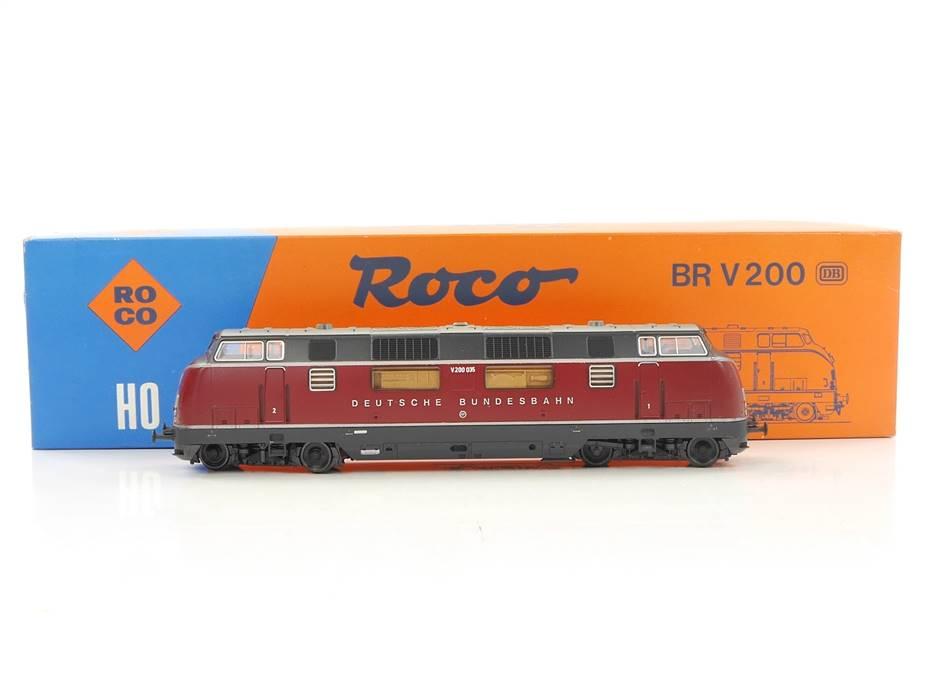 E169 Roco H0 43522 Diesellok BR V200 035 DB / NEM *TOP*