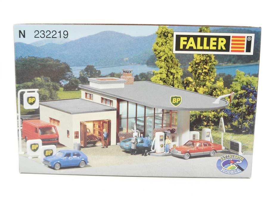 E280 Faller N 232219 Gebäude Bausatz BP-Tankstelle