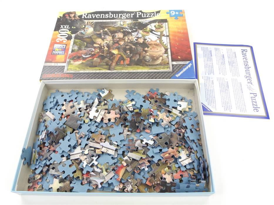 E307 Ravensburger Puzzle 131983 Dragons 300 Teile 9+