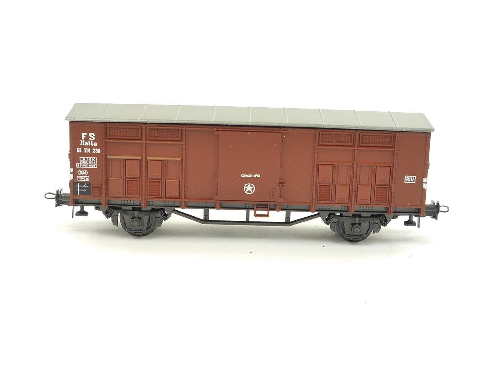E256 Roco H0 Güterwagen Spitzdachwagen EE 114 230 FS