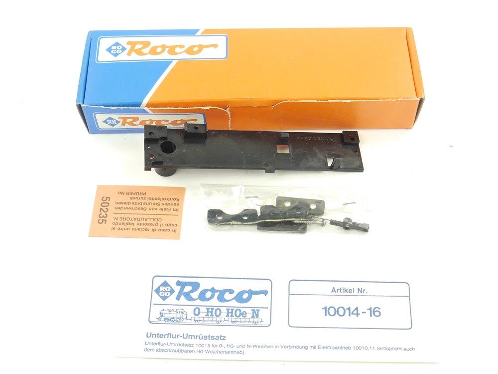 E278 Roco H0 N 10014 Unterflur-Umrüstsatz für Weichen