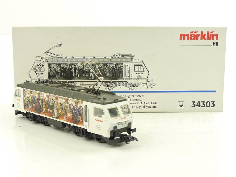 """E254 Märklin H0 34303 Elektrolok """"150 Jahre Schweizer Bahnen"""" / Delta NEM *TOP*"""