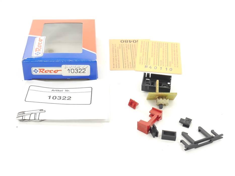 E163 Roco H0 10322 Gleisbildstellwerk Funktionssymol Kippschalter