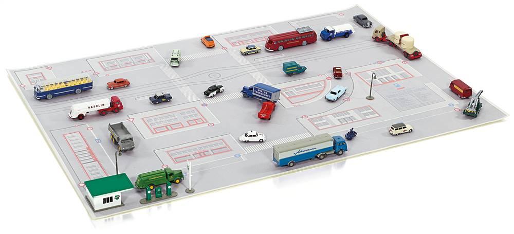 E323 Wiking H0 1100 01 Geländebau Straßenplan *NEU*