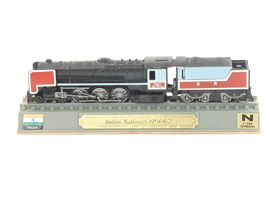 E296 Del Prado N Standmodell Dampflok Indian Railways YP 4-6-2 India