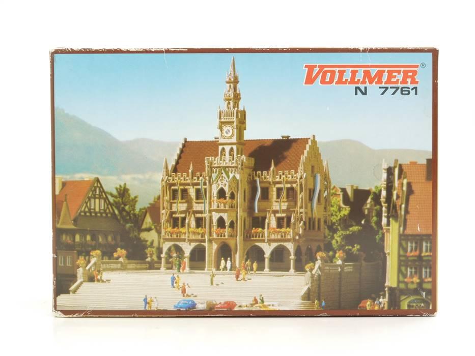 E330 Vollmer N 7761 Gebäude Bausatz Rathaus Großstadt-Rathaus *NEU*