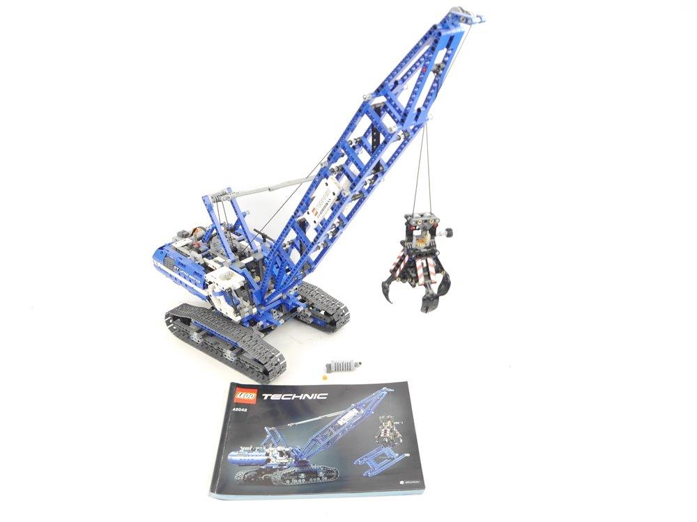 E293 LEGO Technic 42042 Seilbagger 2 in 1 Power Functions