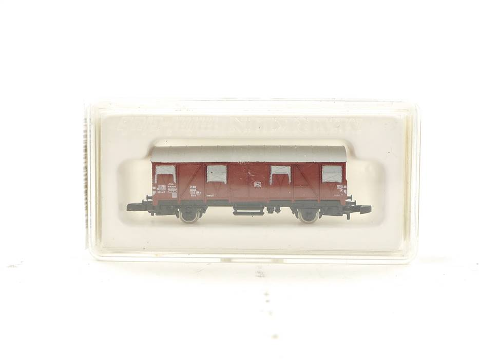 E314 Märklin mini-club Spur Z 8605 gedeckter Güterwagen 155 5 154-7 DB