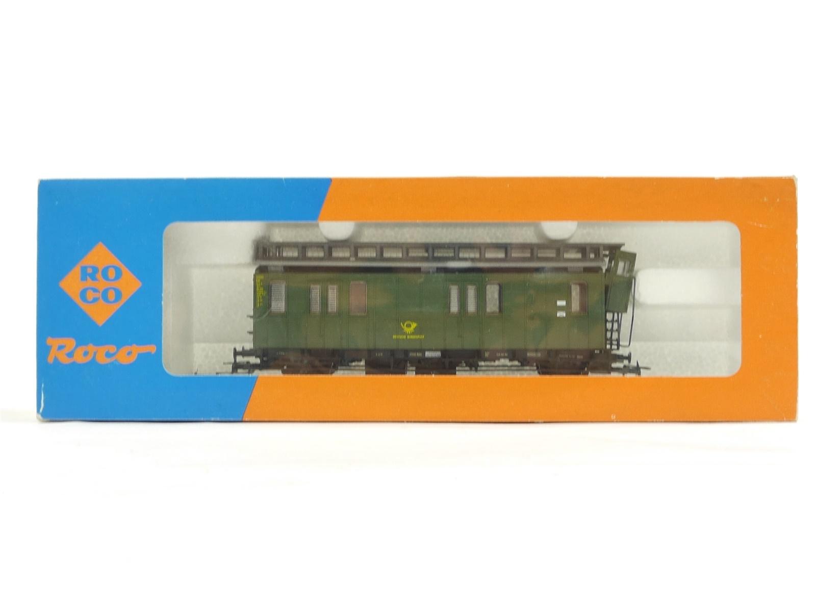 E203 Roco H0 44208A Packwagen Postwagen Deutsche Bundespost DBP / NEM AC