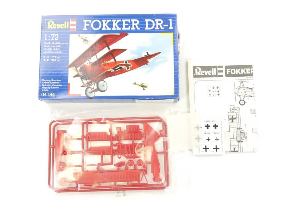 "E332 Revell 04154 Bausatz Militärflugzeug ""Fokker DR-1"" 1:72 *NEU*"
