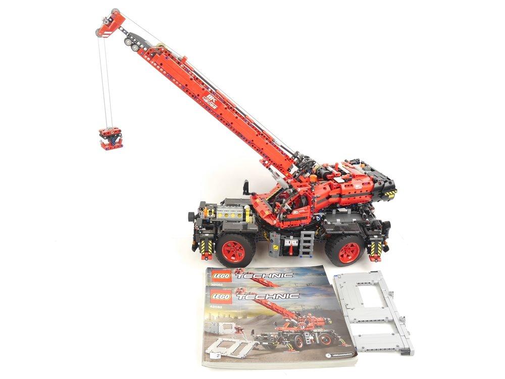 E293 LEGO Technic 42082 Geländegängiger Kranwagen Power Functions