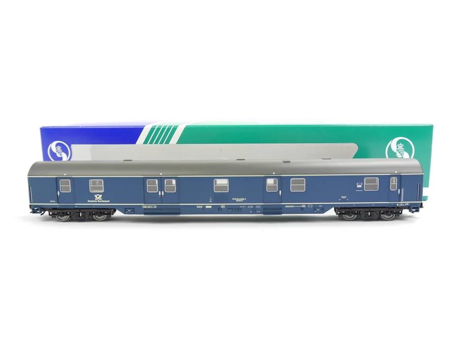 E332 Sachsenmodelle H0 14695 Personenwagen Bahnpostwagen 33 053-2 DBP / NEM