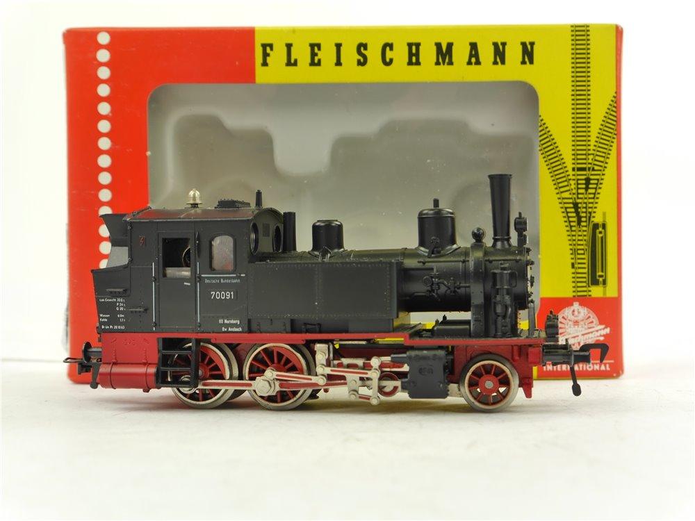 E256 Fleischmann H0 4016 Dampflok Tenderlok BR 70 091 DB