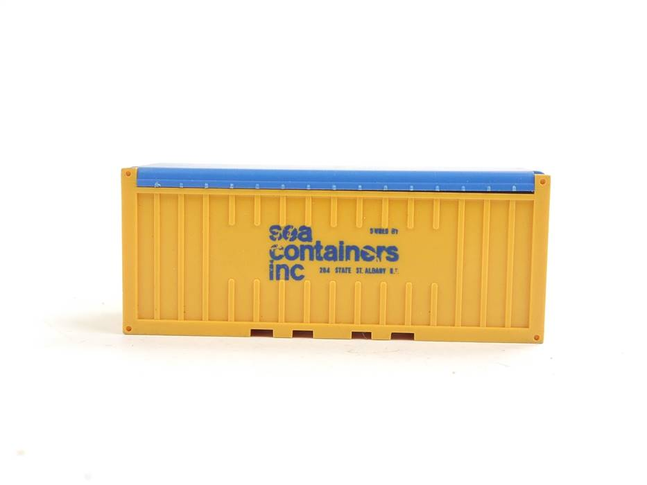 """E169 Wiking H0 1372/3A Zubehör LKW open-top Container """"sea containers inc"""""""