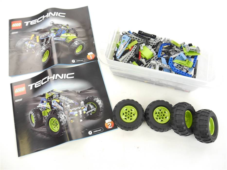 E293 LEGO Technic 42037 Formula Off-Roader inkl. Anleitungen *vollständig*