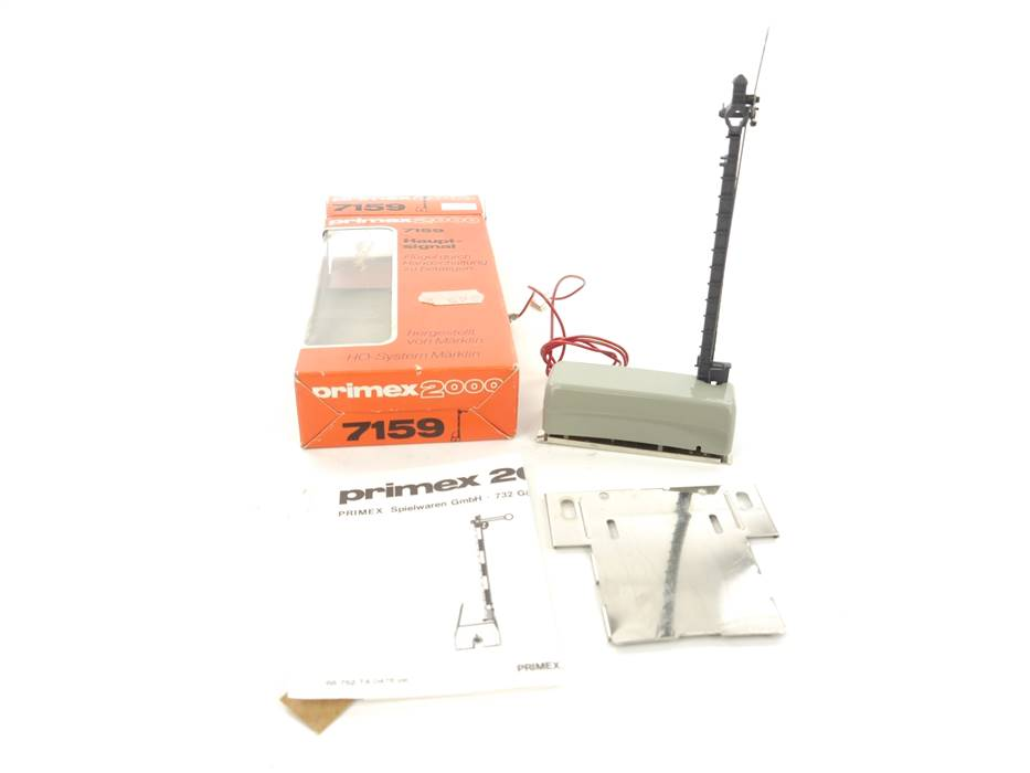 E298 Primex H0 7159 Elektr. Signal Hauptsignal 1-Flügel