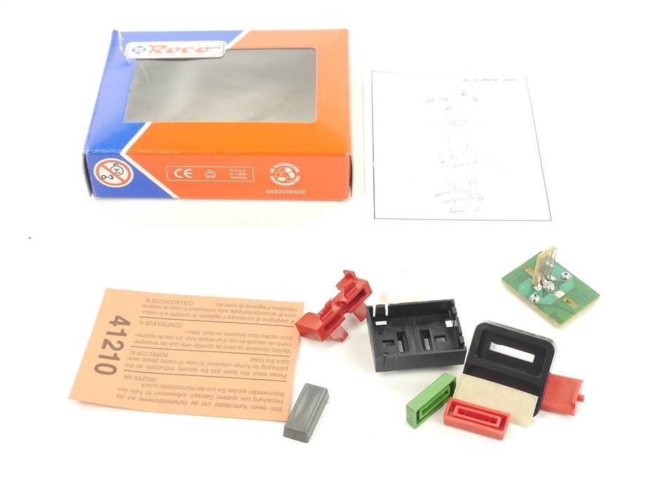 E163 Roco H0 10320 Gleisbildstellwerk Taster mit Schriftfeld