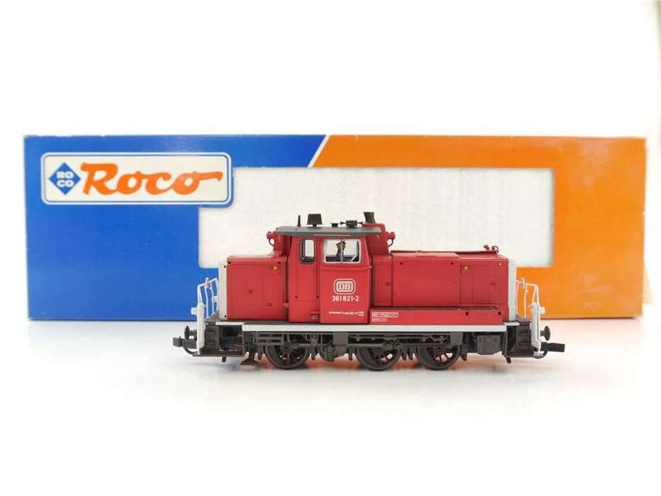 E327 Roco H0 43622 Diesellok BR 361 821-2 DB / Digital NEM