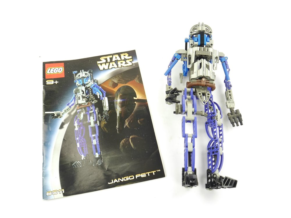 E254 LEGO Star Wars 8011 Jango Fett
