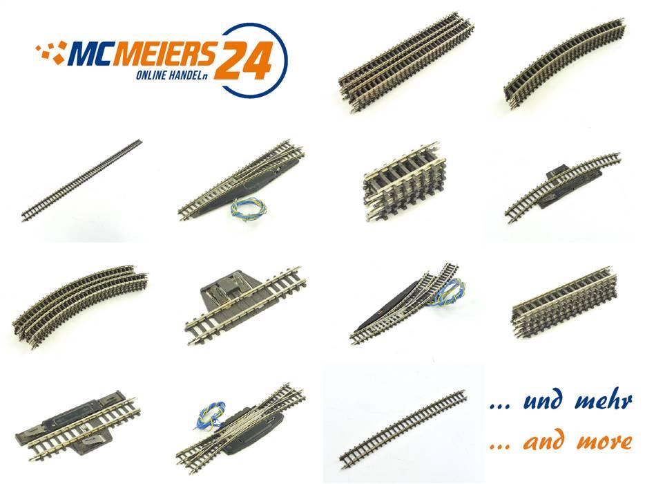 Märklin Spur Z Gleismaterial | diverse Varianten | Zustand *Note 3-4*
