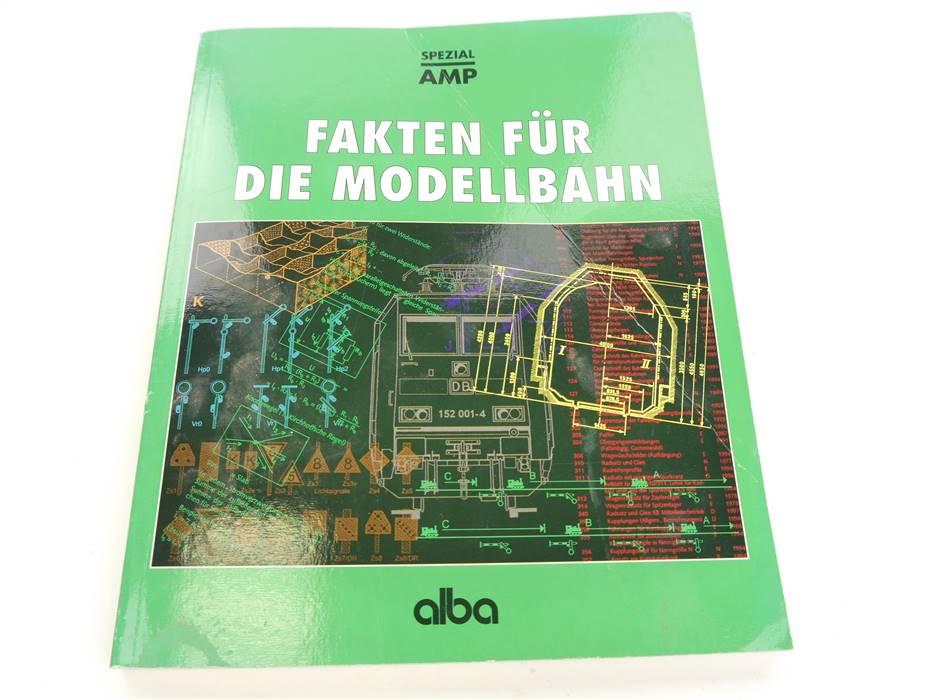 """E304 Alba Verlag Buch """"Fakten für die Modellbahn"""""""