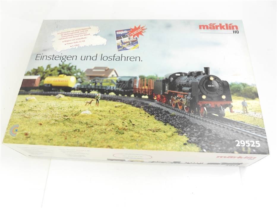 E334 Märklin H0 29525 Startset 35-tlg Güterzug + C-Gleis + Trafo / Delta Digital