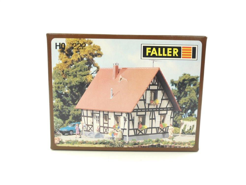 E160 Faller H0 222 Gebäude Bausatz Wohnhaus Fachwerkhaus *TOP*
