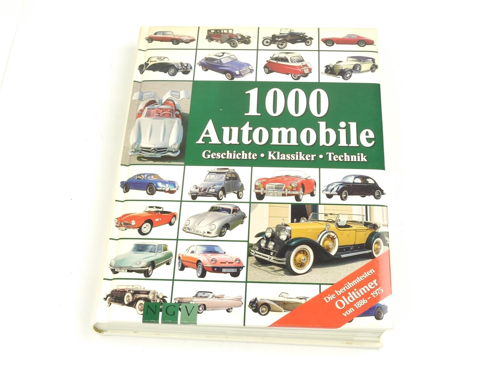 E135 NGV Reinhard Lintelmann - Buch 1000 Automobile Geschichte Klassiker Technik