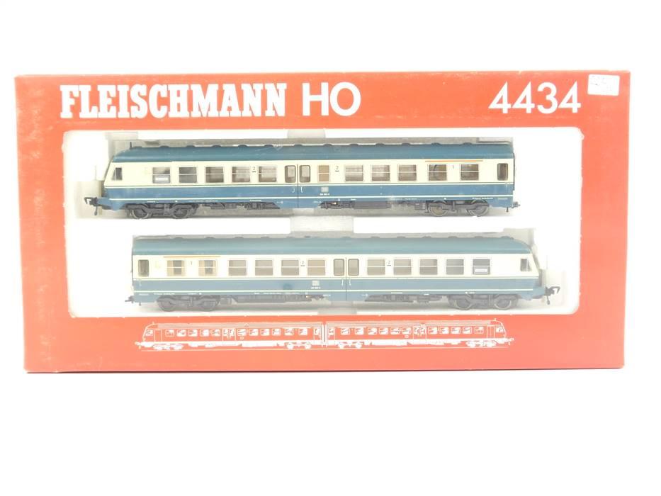 E292 Fleischmann H0 4434 Zugset 2-tlg. Dieseltriebzug BR 614 DB