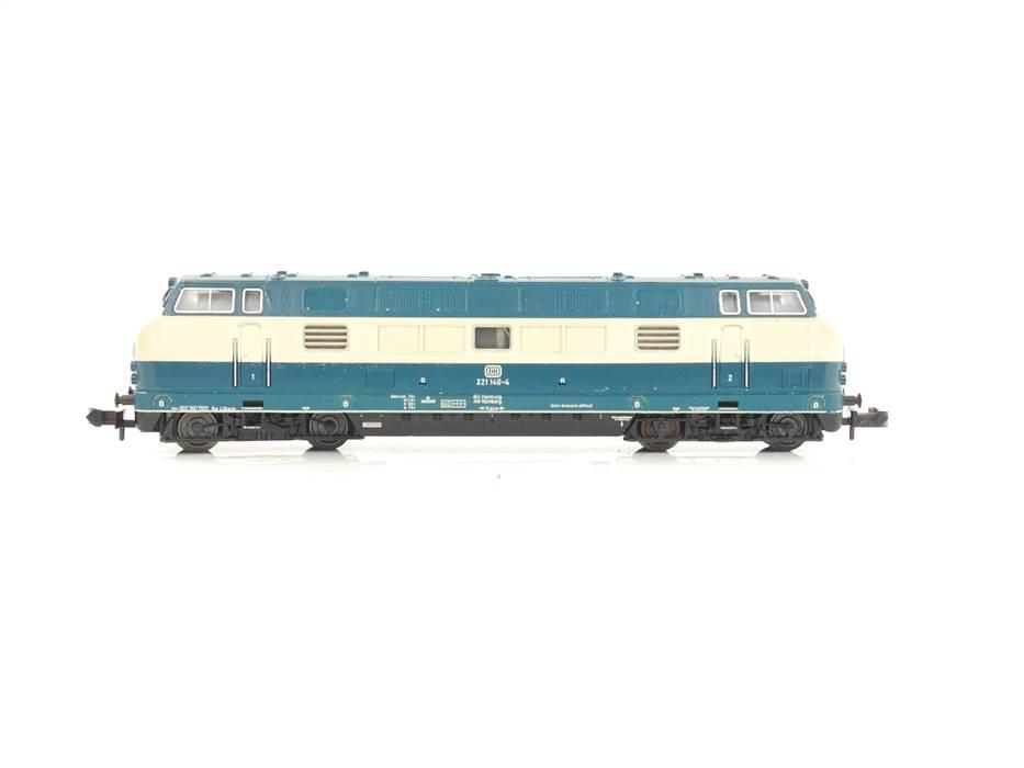 E320 Minitrix N 2079 Diesellok BR 221 146-54 DB