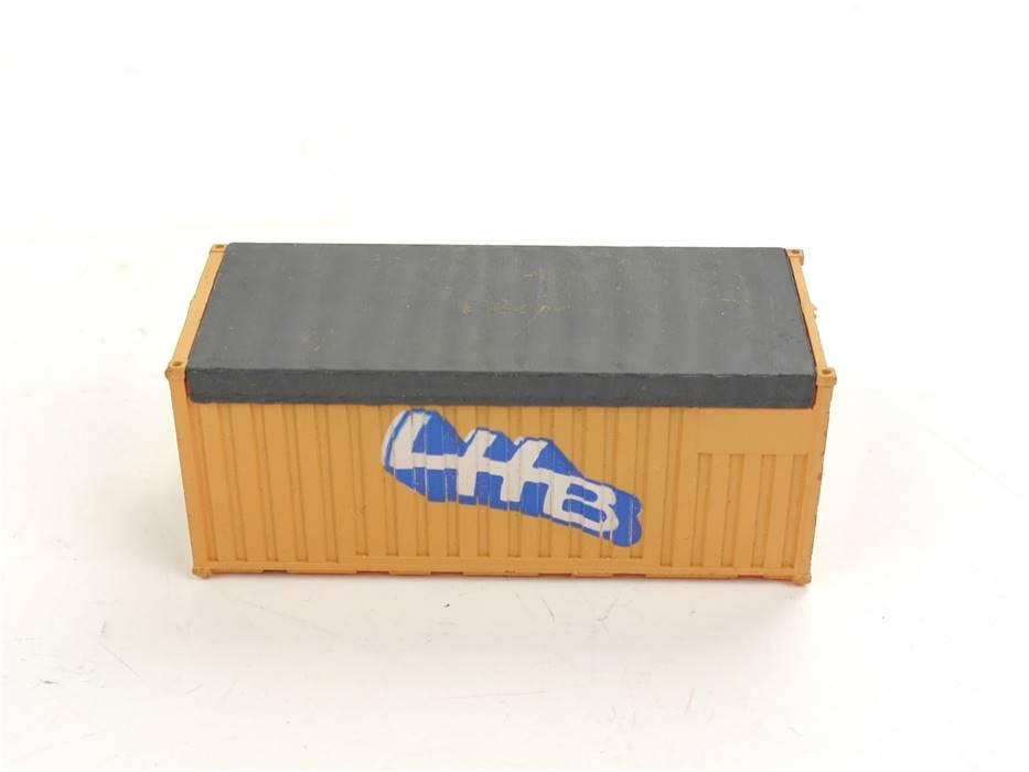 E169 Roco H0 Ausschmückung Ladegut Ladung 20ft Container LHB Linke Hofmann Busch