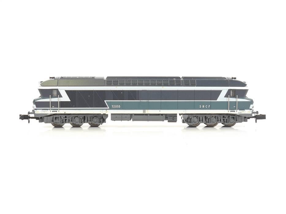 E320 Minitrix N 12748 Diesellok 72033 SNCF / DSS