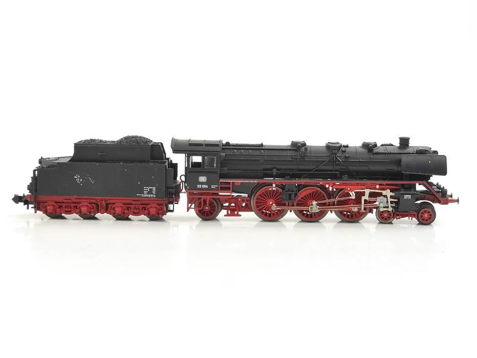E316 Minitrix N 12003 Dampflok Schlepptenderlok BR 03 054 DB