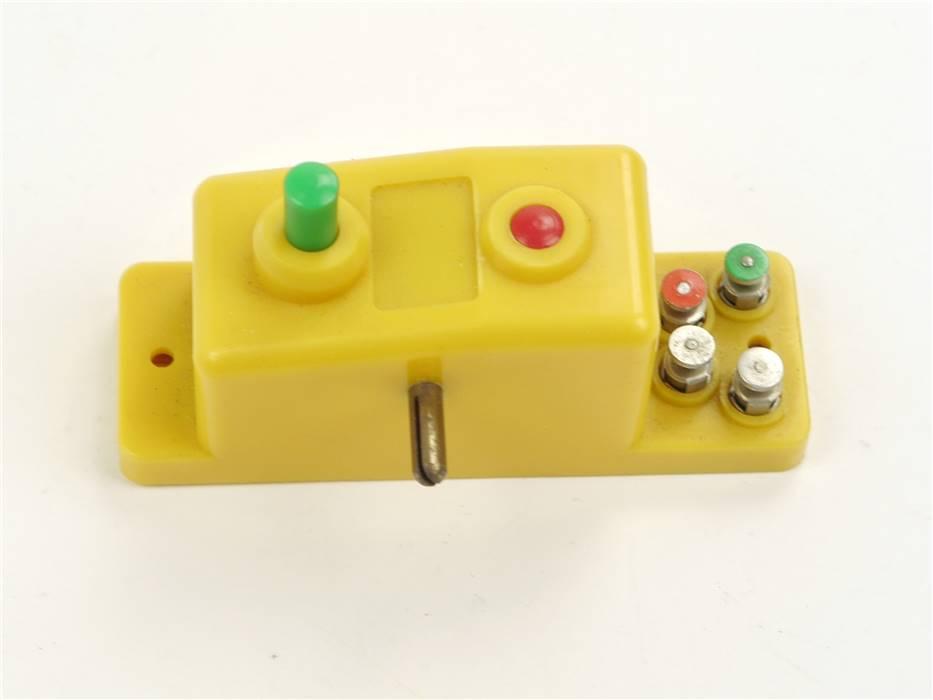 E316 Trix 66594 6594 Stellpult Doppelfunktionsschalter gelb *Note 2-3*