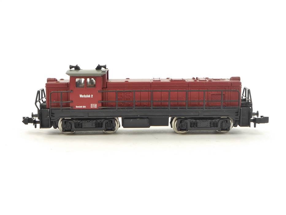 E307 Roco N 21016 Diesellok Rangierlok Werkbahn Werkslok2