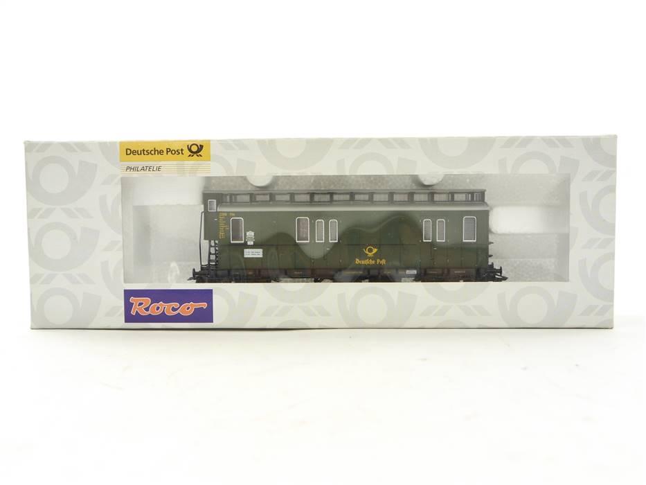 E332 Roco H0 010179 Personenwagen Bahnpostwagen DRP / NEM *TOP*