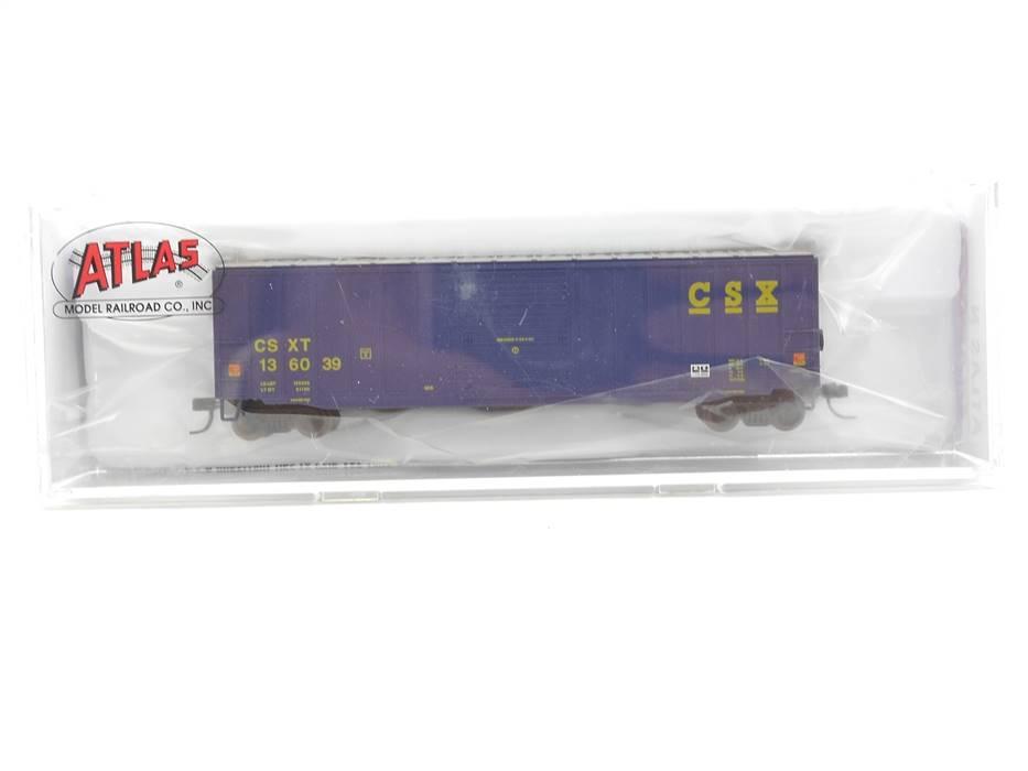 "E295 Atlas N 50 003 026 US Güterwagen Box Car 136039 ""CSXT"" *TOP*"