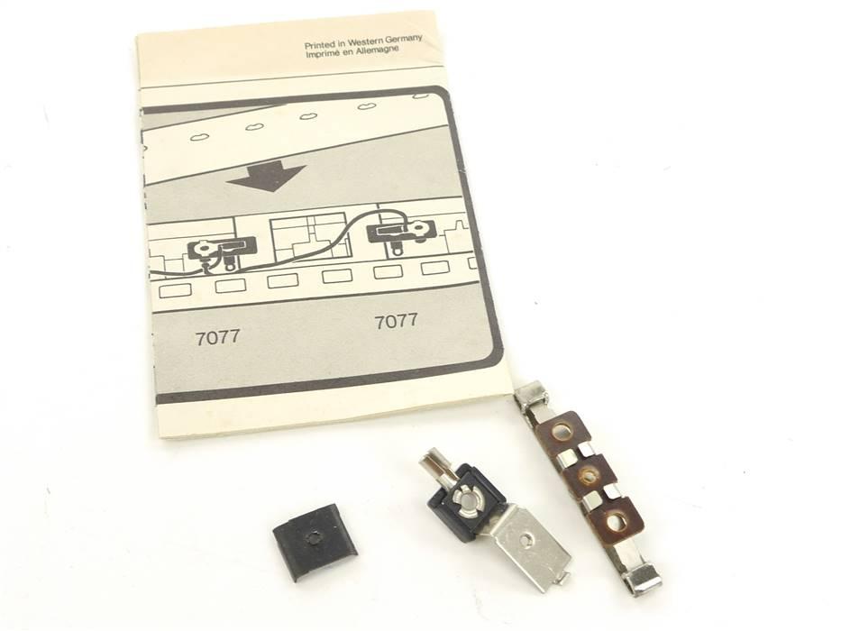 E161 Märklin H0 7198 Ersatzteile Stromführung mit Schleifer / AC
