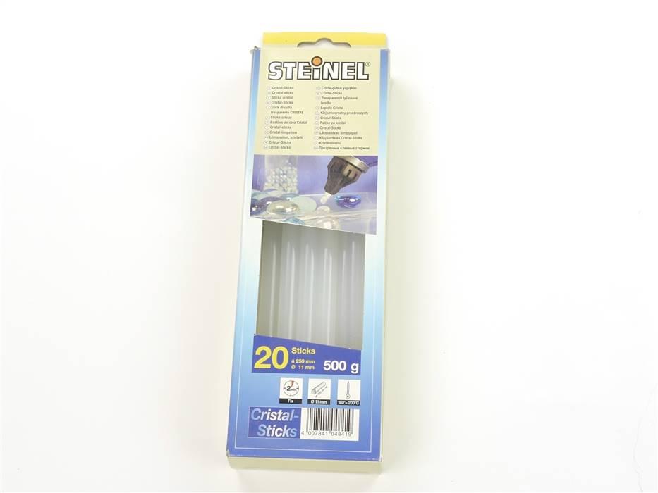 E161 Steinel 15x Cristal-Sticks Heißkleber