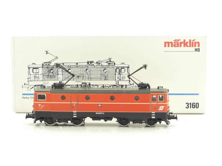 E300 Märklin H0 3160 Elektrolok E-Lok BR 104 3007-2 ÖBB