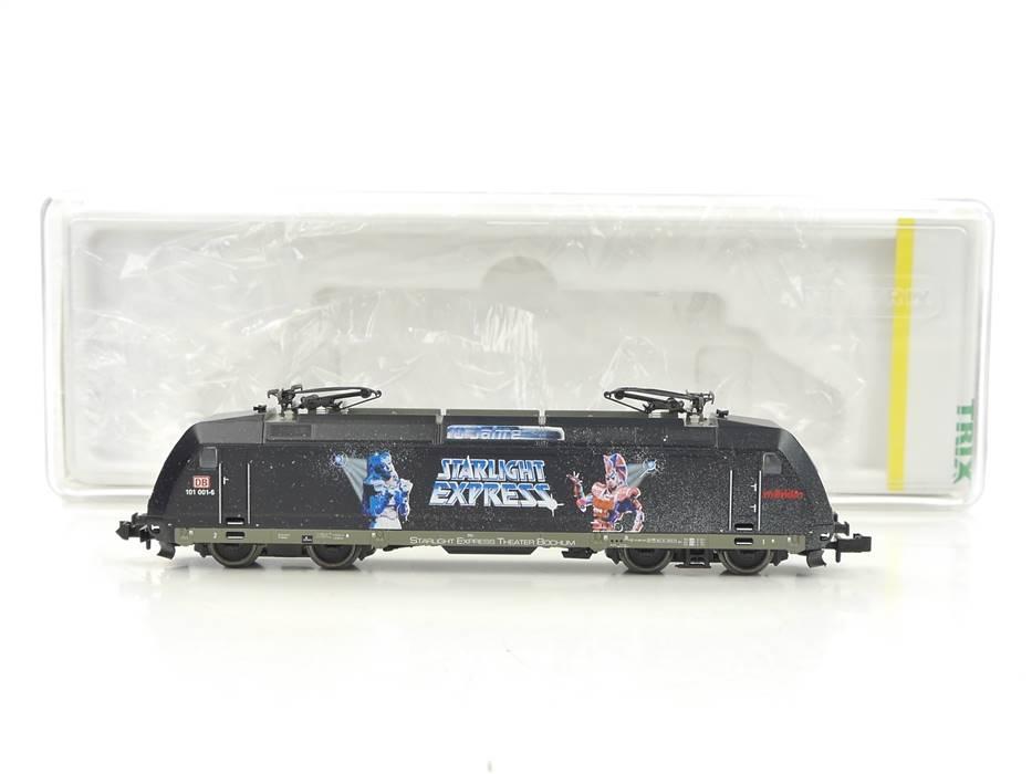 """E326 Minitrix N 12657 Elektrolok E-Lok """"Starlight Express"""" BR 101 001-6 DB / DSS"""